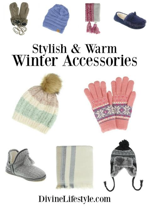 Warm Stylish stylish and warm winter accessories hats gloves slippers