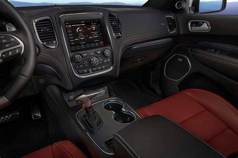 jeep durango interior 2018 dodge durango srt first look the nearly 500 hp three