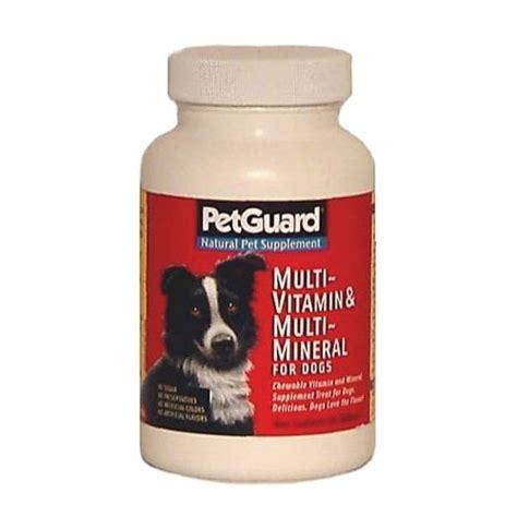 puppy vitamins pet guard multi vitamin and minerals supplement naturalpetwarehouse