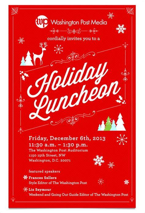 employee holiday luncheon invitation template 6 lunch invitations jpg vector eps ai illustrator free premium templates