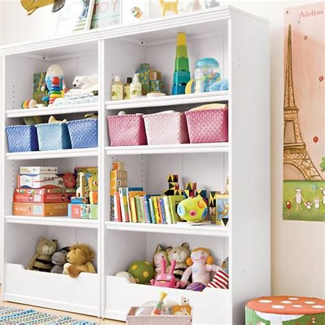 bookcases white flat top with adjustable