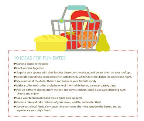 10 Date Ideas by 10 Ideas For Dates The Emeals