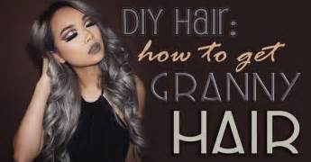 how to get grey hair color diy hair how to get gray hair bellatory