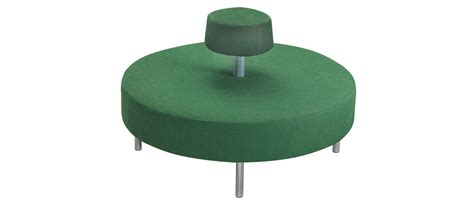 Soft Green Stool by Dot Kallin Franz 233 N