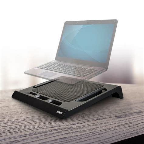 laptop stand with fan port connect laptop cooling stand with fan usb black