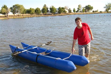 blow up sailboat homemade inflatable boat boats homemade and places