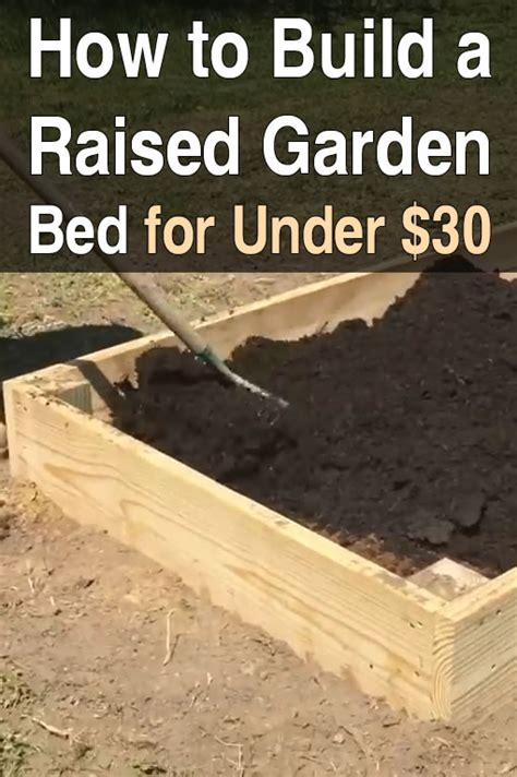 how to start a raised bed garden in your backyard build a raised garden bed for under 30 homestead