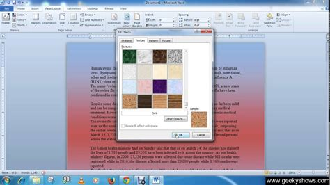 change background color in word change background color microsoft word 2010 coloring pages