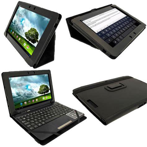 Tablet Asus Keyboard igadgitz black portfolio pu leather cover for asus eee pad transformer keyboard dock