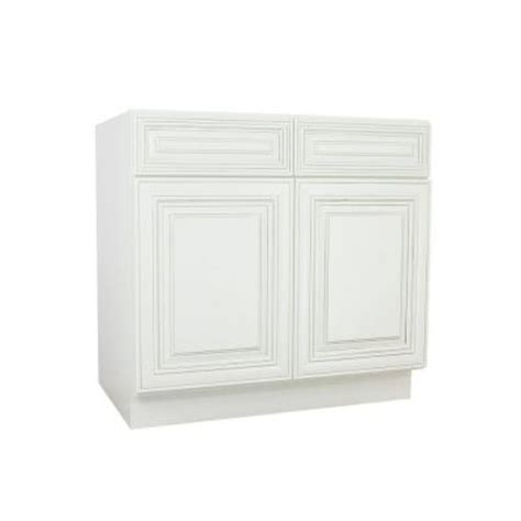 home depot kitchen sink cabinet lakewood cabinets 36x34 5x24 in all wood base sink kitchen cabinet with doors and