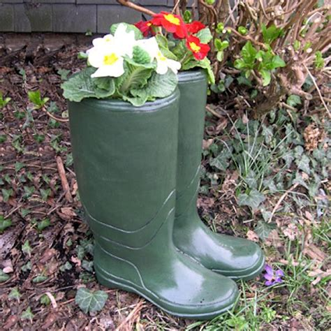 Welly Boot Planter by Wellington Boot Planter Wellie Planters