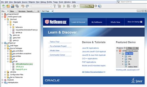 tutorial java web netbeans español netbeans ide base ide features