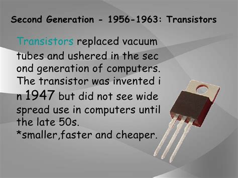 which generation of computer made use of integrated circuit history of computer