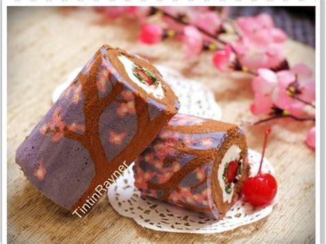 cara membuat bolu fancy resep cara membuat motif pada japanese roll cake how to