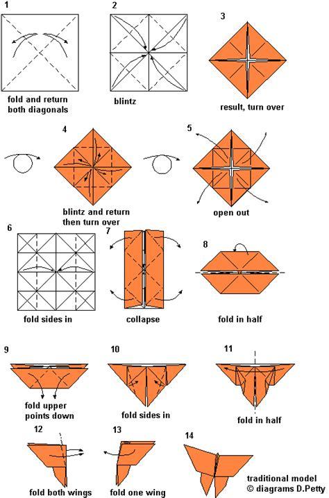 tutorial origami farfalla origami mauro diagrammi modelli tradizionali