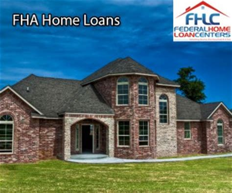 fha housing loans things you may not know about the fha home loan fhlc