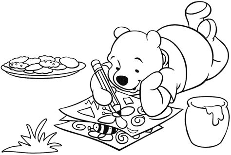 Winnie The Pooh Characters Drawings Images Drawings For Coloring