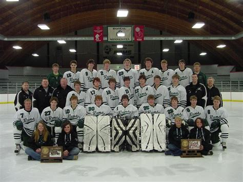 rams hockey roseau rams hockey association