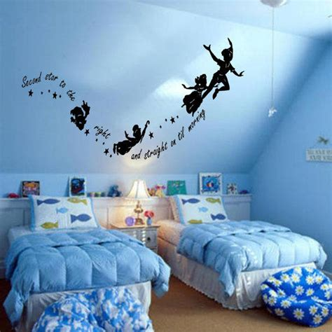 neverland themed bedroom peter pan never never land flying from parklanecouture on etsy