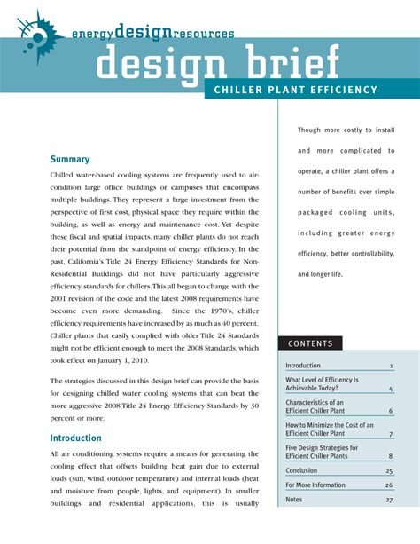 design brief for technology energy design resources design briefs page