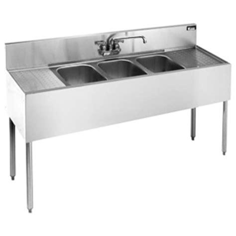 3 compartment bar sink krowne kr18 53c royal three 3 compartment bar sink