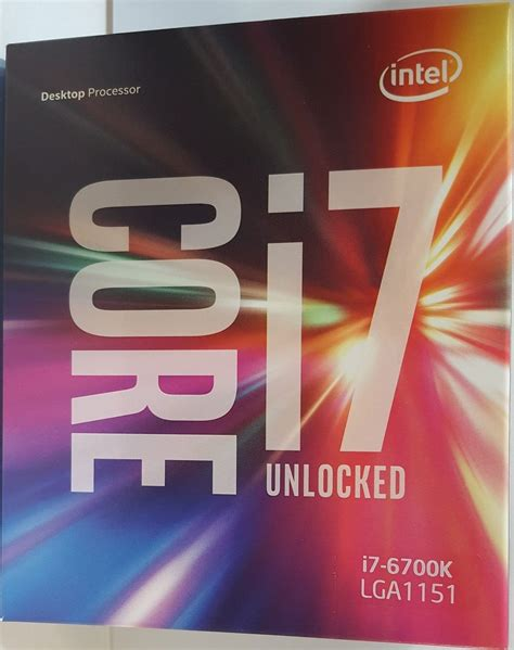 Intel I7 6700k Box No Fan Skylake 1151 Murah intel skylake i7 6700k i5 6600k mit neuem boxed