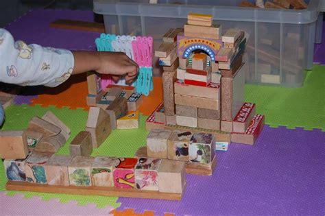 menara balok istana kecerdasan visual spasial morning sun
