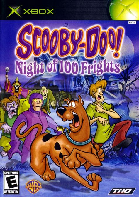 Cover Front Scoopy Original Ahm scooby doo of 100 frights for xbox 2003 mobyrank