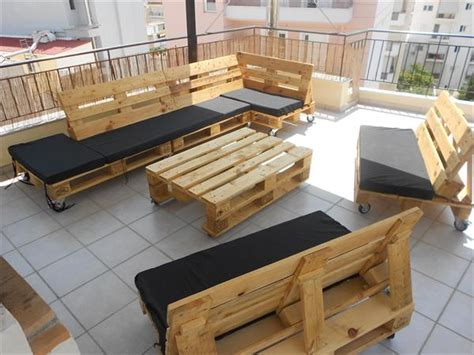 DIY Pallet Projects   50 Pallet Outdoor Furniture Ideas   Pallets Designs
