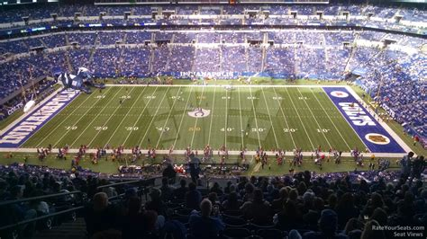 lucas oil stadium sections lucas oil stadium section 612 indianapolis colts