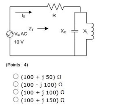resistor in series with parallel lc 1 tco 4 a resistor r is in series with a parallel chegg