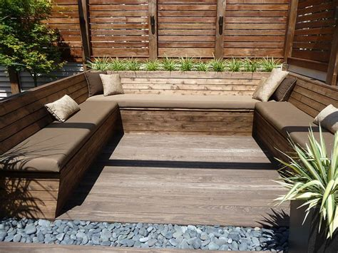 garden bench made from decking 52 best deck bench images on pinterest deck benches decks and benches