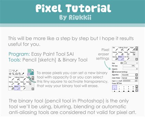 paint tool sai pixel tutorial painttool sai pixel tutorial free3dtutorials