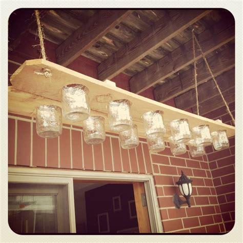 custom made chandelier handmade jar chandelier by ultimatediyguy