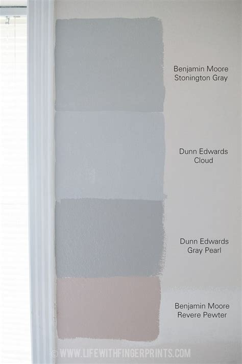with fingerprints determining what gray to paint the bedroom dunn edwards gray pearl