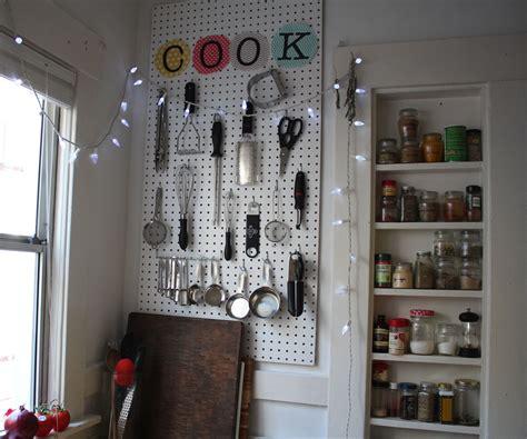 pegboard ideas kitchen kitchen pegboard organizer all