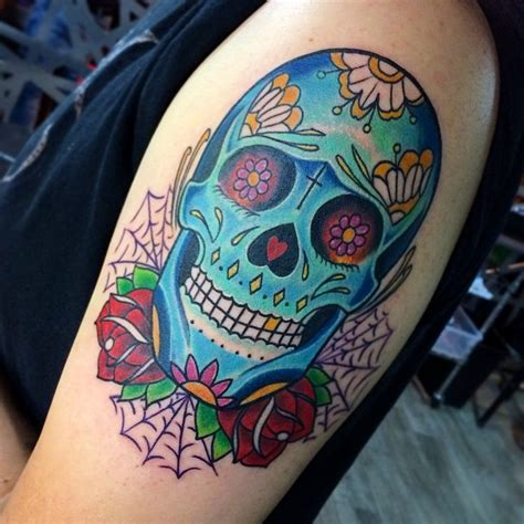 60 best sugar skull tattoo designs amp meaning