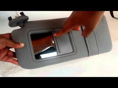 Toyota Camry Sun Visor Recall Diy Camry Sun Visor Repair How To Save Money And Do It
