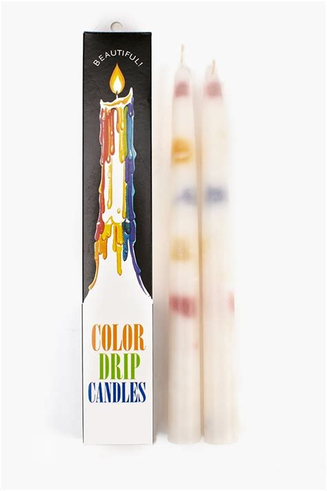 color drip candles rainbow color drip candles funky candles