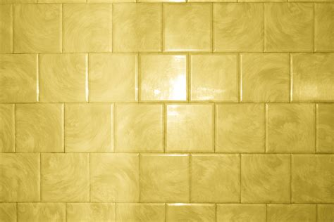 yellow bathroom tile with swirl pattern texture picture