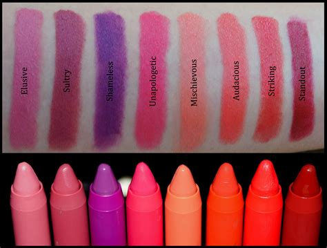 Lipstik Revlon Matte Colorburst revlon colorburst matte balm swatches price india