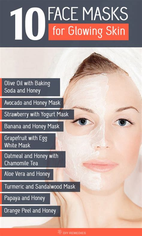 10 best masks for glowing skin