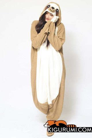 Flappy Jumpsuit sloth kigurumi onesie the words words and the sloth