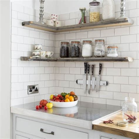 shelving ideas for kitchens neutral kitchen with shelves best kitchen shelving ideas housetohome co uk