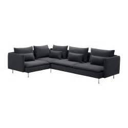 S 214 Derhamn Corner Sofa Samsta Dark Grey Ikea
