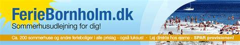 häuser mieten dänemark blavand ferieboliger i svaneke bornholm
