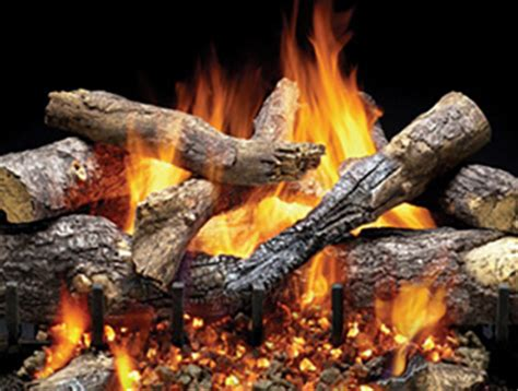 gas fireplace logs log sets heat glo