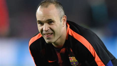 barcelona believe andres iniesta will leave for chinese euro papers iniesta to china seria a 13 april 2018