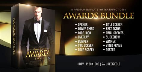 Videohive After Effects Project Footage Mega Bundle awards bundle project for after effects videohive avaxhome