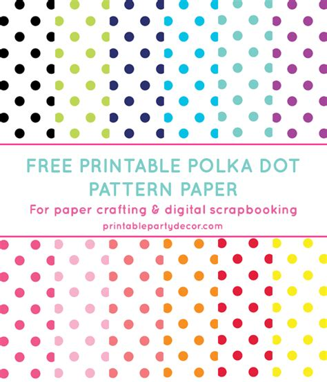 printable dot pattern paper 8 best images of free printable polka dot patterns blue